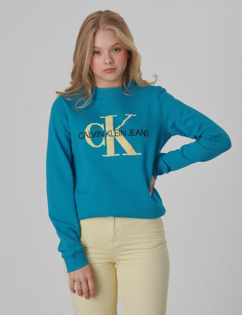 MONOGRAM TERRY SWEATSHIRT Girl