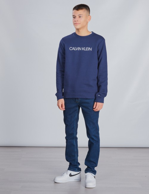 Calvin Klein barnkläder - INSTITUTIONAL SWEATSHIRT