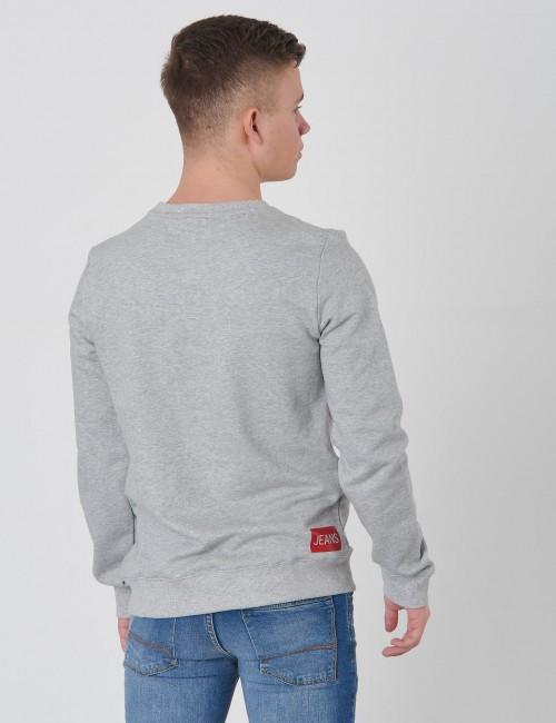 Calvin Klein barnkläder - LOGO COTTON TERRY SWEATSHIRT