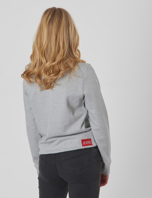Calvin Klein - LOGO COTTON TERRY SWEATSHIRT