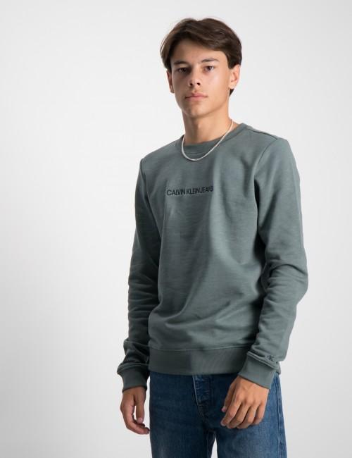Calvin Klein barnkläder - EMBROIDERED LOGO SWEATSHIRT