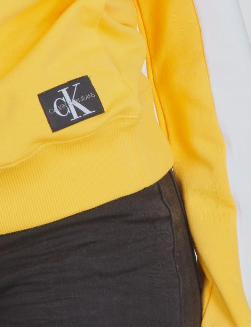 Calvin Klein - COLOUR BLOCK MONOGRAM SWEATSHIRT