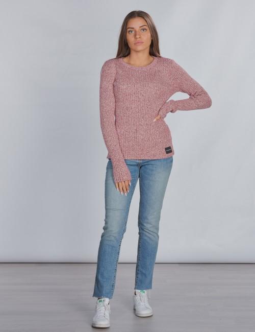 Calvin Klein barnkläder - LUREX RIB SWEATER