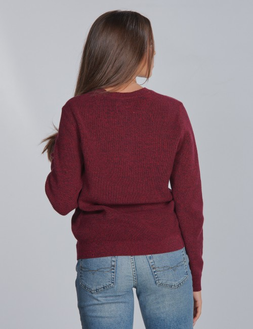 Calvin Klein barnkläder - OCO MIXED YARN SWEATER