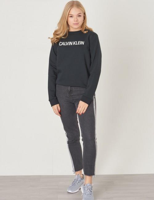 Calvin Klein barnkläder - LOGO BRUSHED CREW