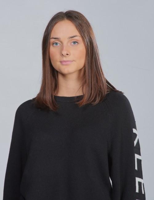 Calvin Klein barnkläder - LOGO RAGLAN SWEATER
