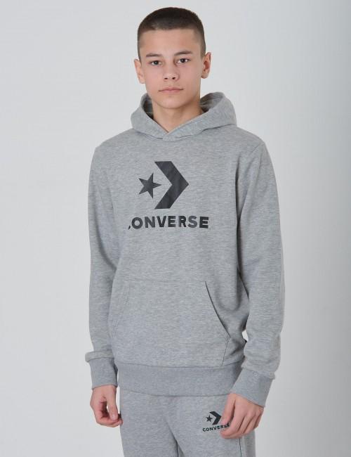 Converse - Stacked Wordmark Fleece Pull Over