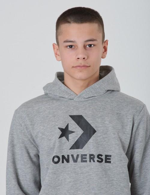 Converse barnkläder - Stacked Wordmark Fleece Pull Over