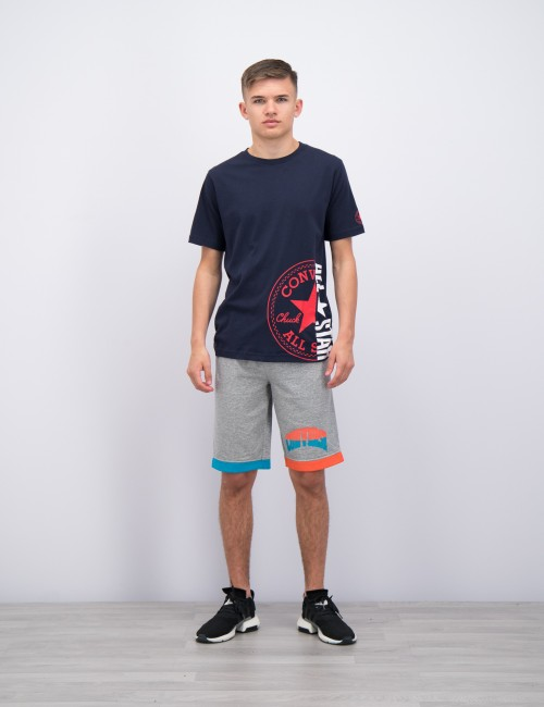 Converse barnkläder - Asymmetrical Colourblock Short