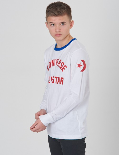 Converse - Retro Athletic Long Sleeve Tee