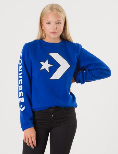Converse - Appliqued Star Chevron Crew