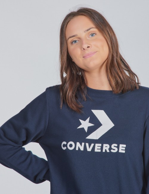 Converse barnkläder - Stacked Wordmark F.T Crew neck