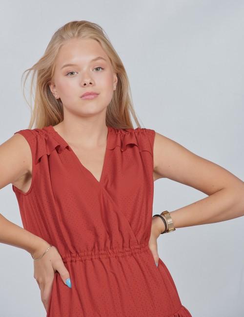 DESIGNERS, REMIX barnkläder - LR Byron Ruffle Dress