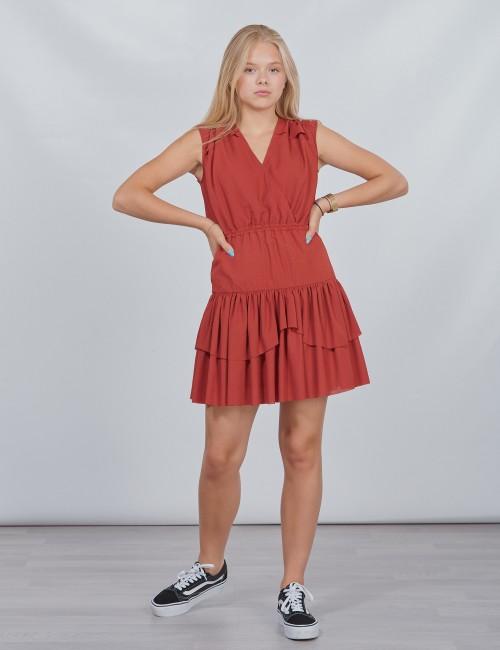 DESIGNERS, REMIX GIRLS - LR Byron Ruffle Dress