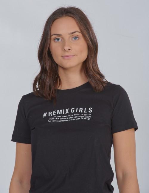DESIGNERS, REMIX GIRLS - LR Stanley Text Tee
