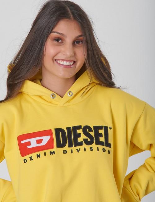 Diesel barnkläder - SDIVISION OVER SWEAT-SHIRT