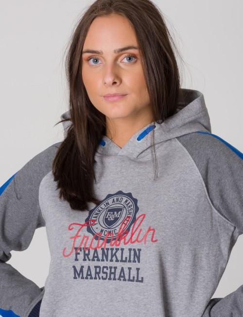 Franklin & Marshall barnkläder - Contrast Over The Head Hoody