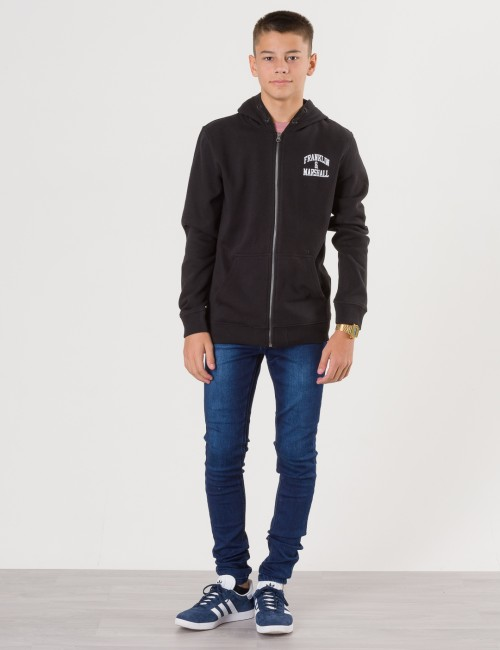 Franklin & Marshall - Badge Logo Zip Hoodie