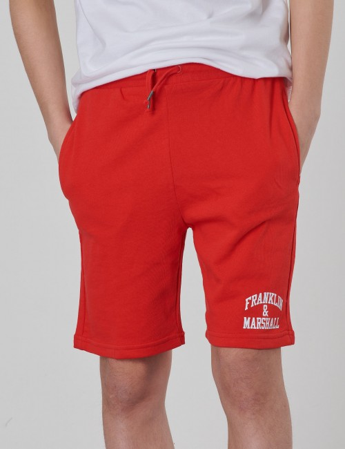 Franklin & Marshall barnkläder - Badge Logo Sweat Shorts