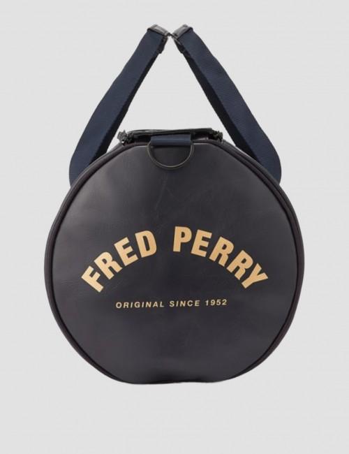 Fred Perry - TONAL PU BARREL BAG
