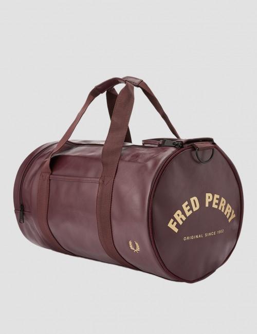 Fred Perry barnkläder - TONAL PU BARREL BAG