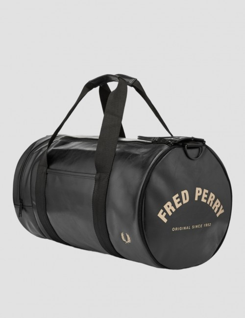 Fred Perry barnkläder - TONAL PU BARREL BAG