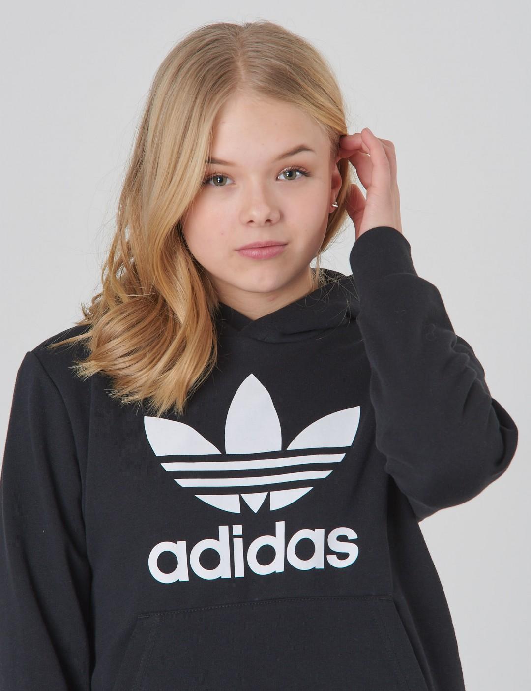 Adidas Originals barnkläder - TREFOIL HOODIE Adidas Originals barnkläder -  TREFOIL HOODIE ... fc456ac084