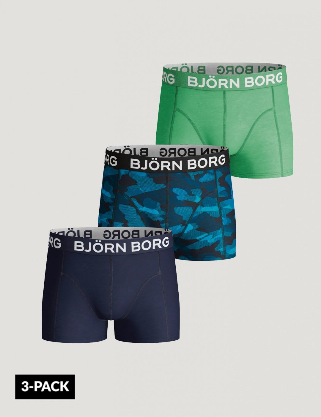 Om Shorts Bb Shadeline 3P - Blå från Björn Borg  8a4ccfc990da0