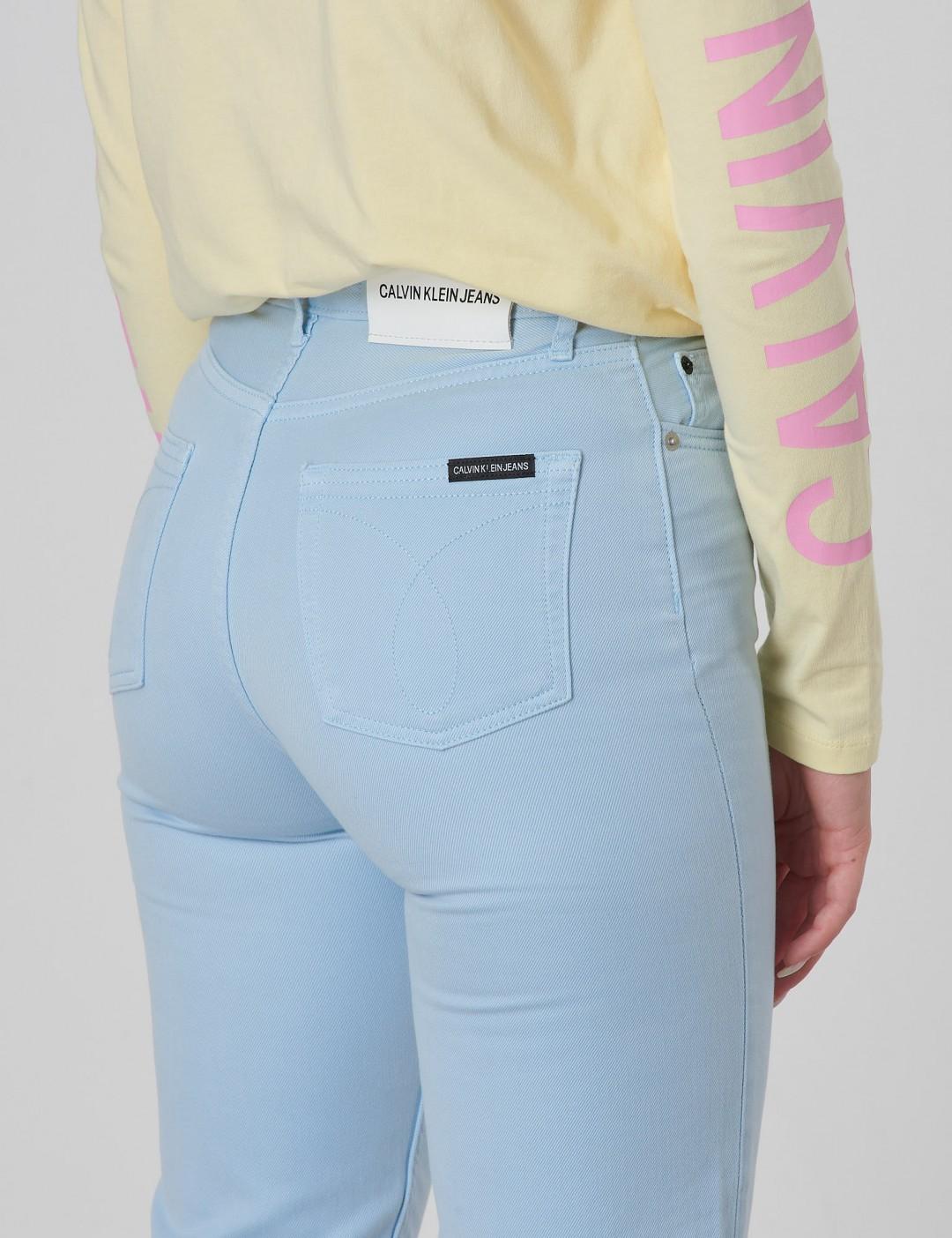 5c14b8844c35 Om Relaxed Hr Ankle Colored Soft Gd - Blå från Calvin Klein ...