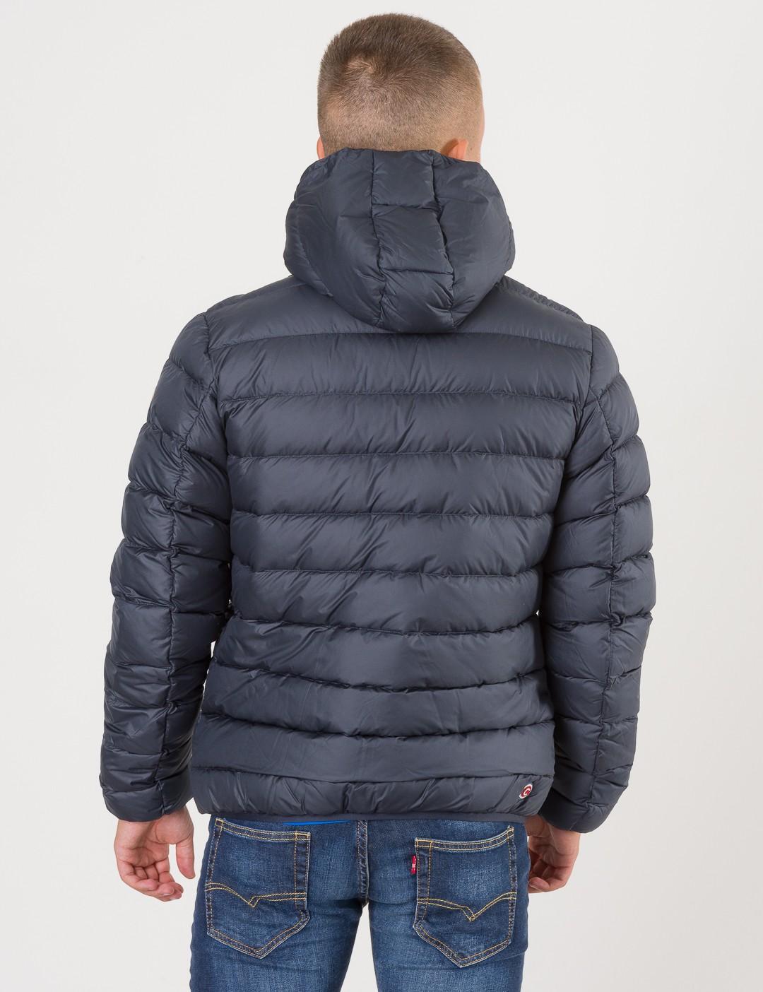 49da68b8 Om Hooded Down Jacket Ii - Blå från Colmar | KidsBrandStore