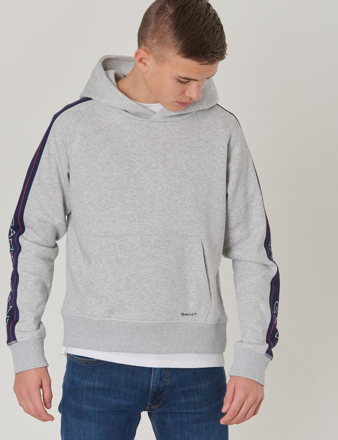 gant sweatshirt grå