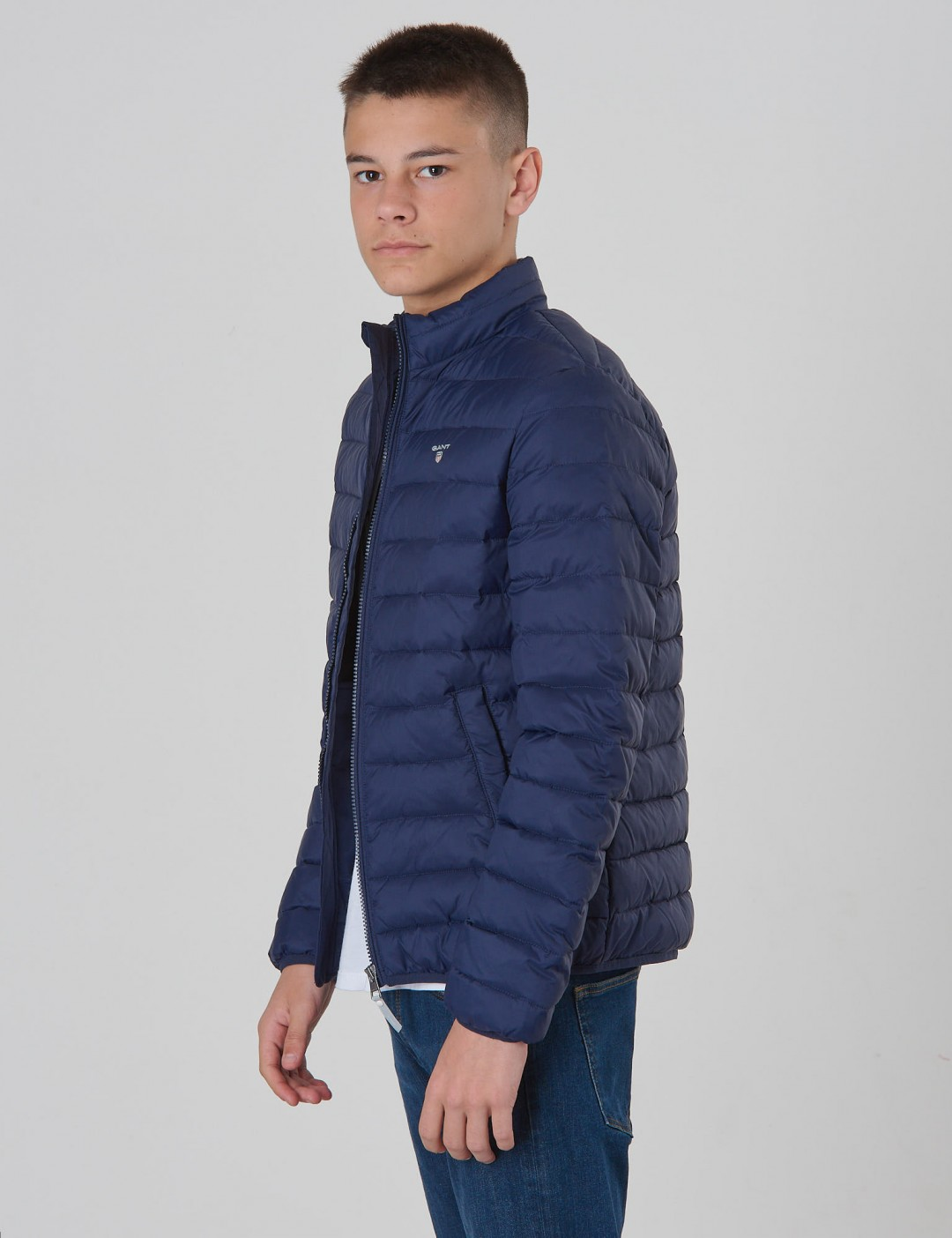 Om Tb. The Light Weight Puffer Jacket Blå från Gant