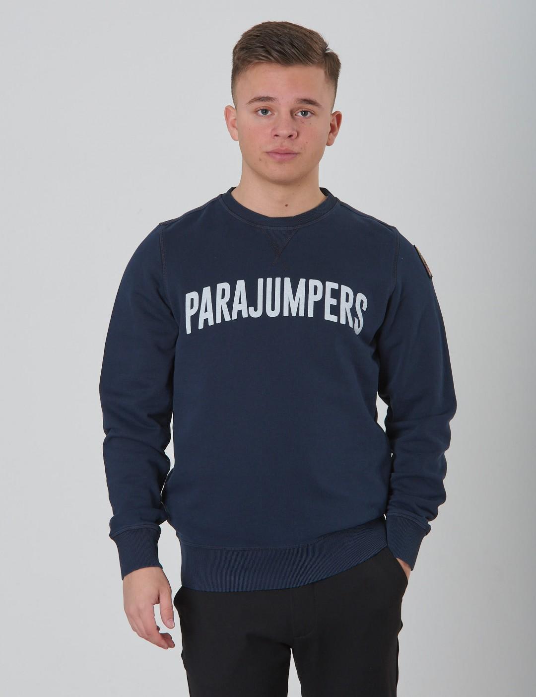 4f5d3667c510 Om Caleb Cotton Fleece - Blå från Parajumpers | KidsBrandStore