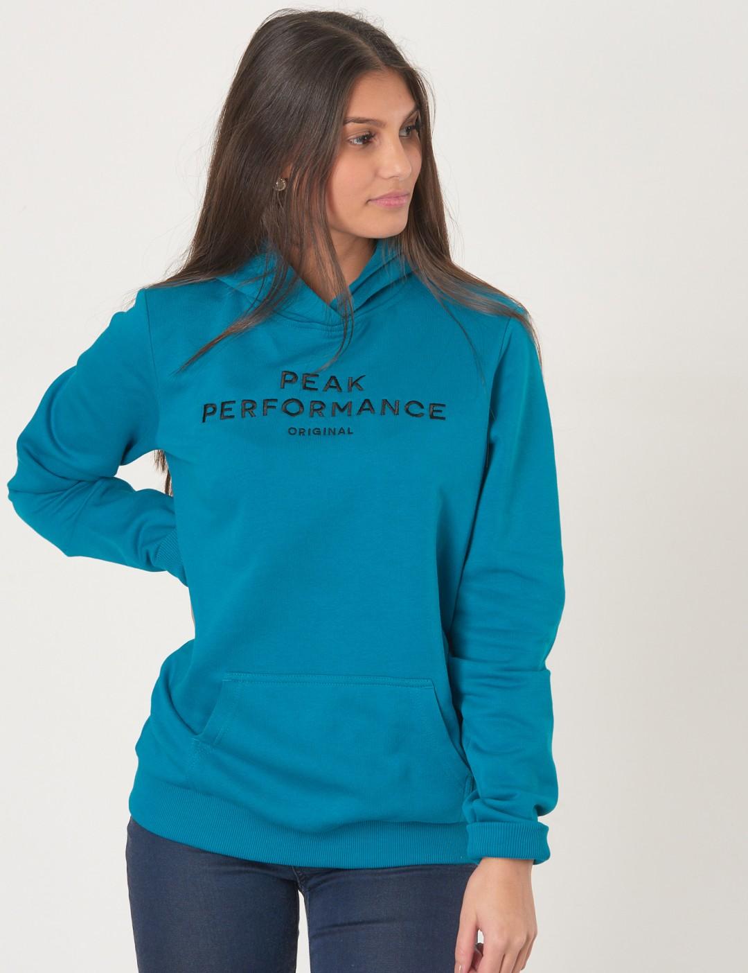 0093e477 Om Jr Logo H - Blå från Peak Performance | KidsBrandStore
