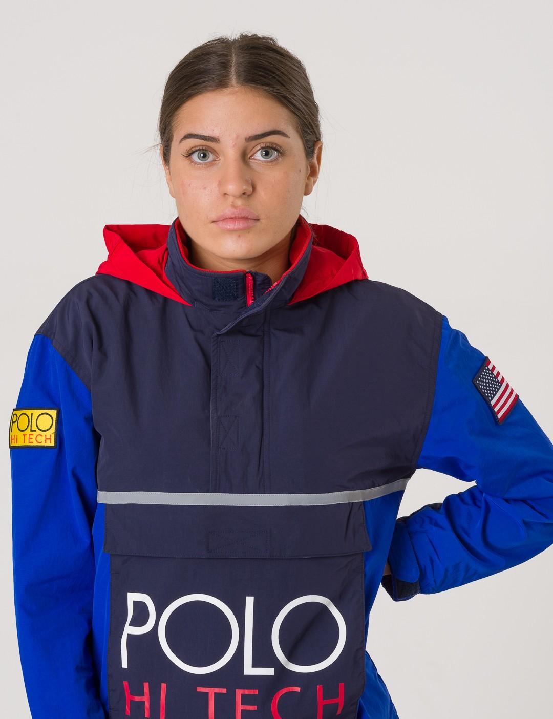 962835c5127d Om Hi Tech Jacket - Blå från Ralph Lauren | KidsBrandStore