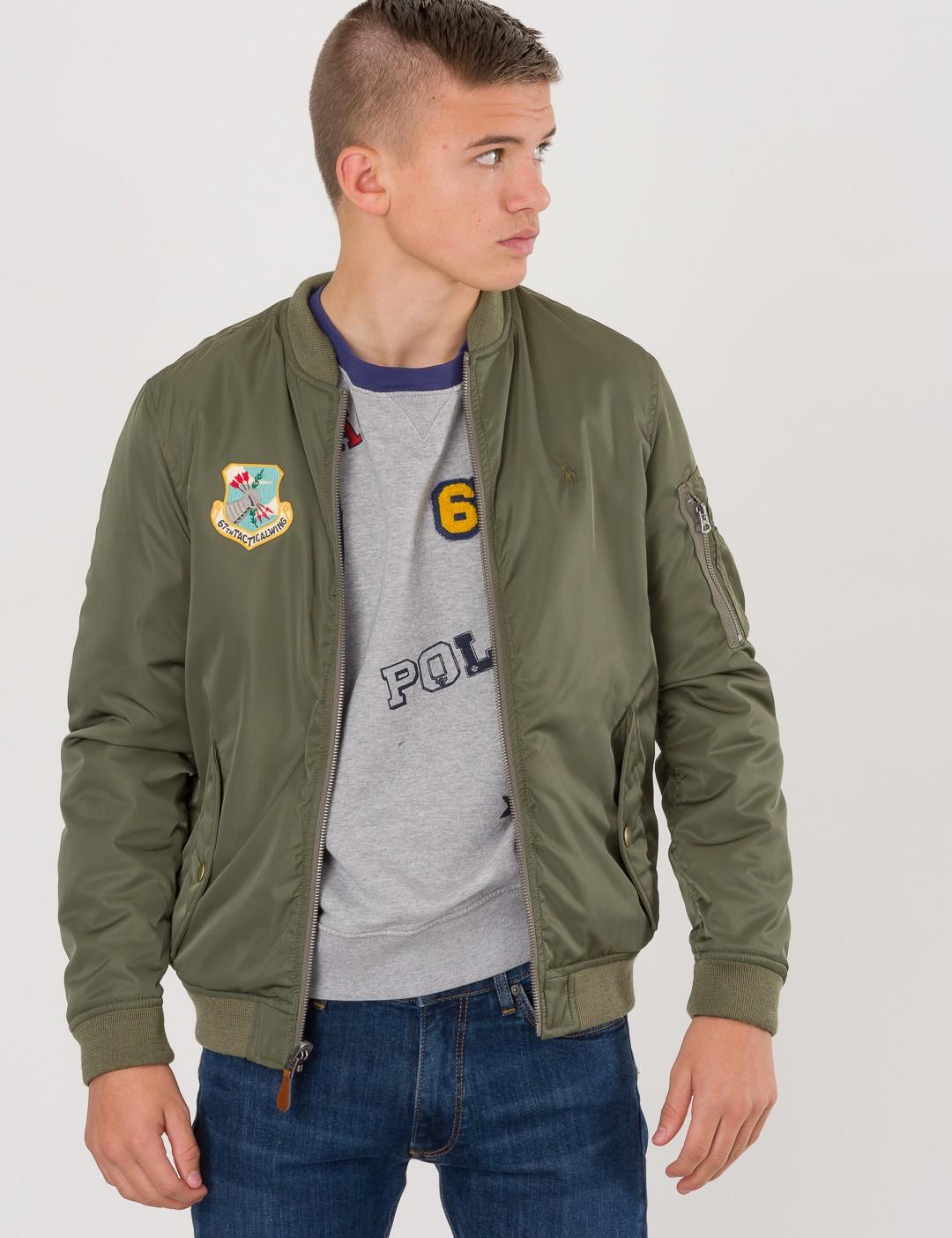 a286ea2aa01 closeout ralph lauren jackets grønn beige 3ec98 e4ea7