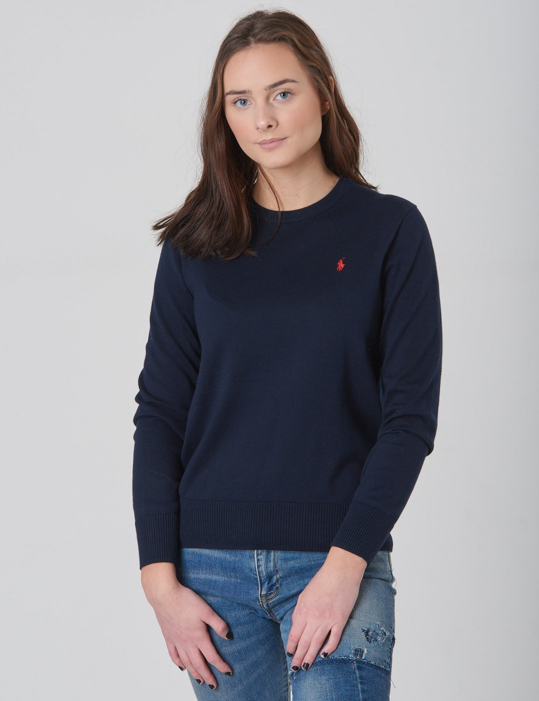Ralph Lauren Barnkläder   Crewneck Tops Sweater   Blå. by Ralph Lauren