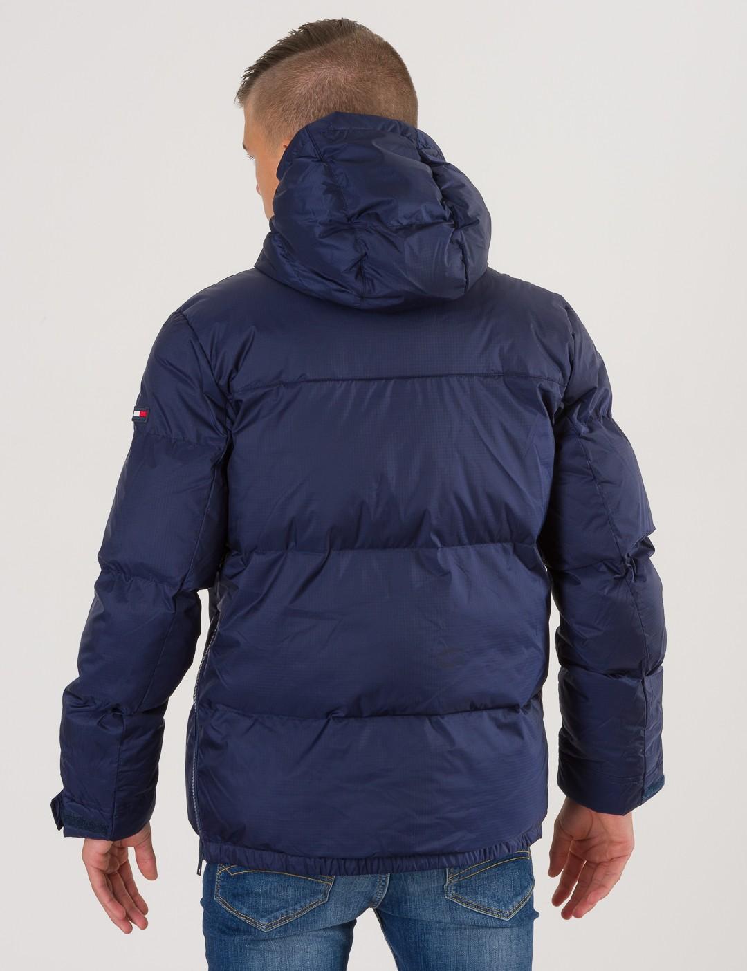 51c672404cfe Om Padded Pop Over Jacket - Blå från Tommy Hilfiger | KidsBrandStore