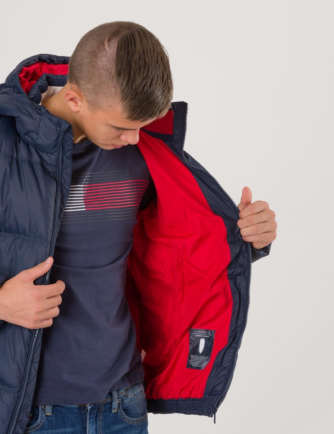 20a0af89 Om Essential Basic Down Jacket - Blå från Tommy Hilfiger ...