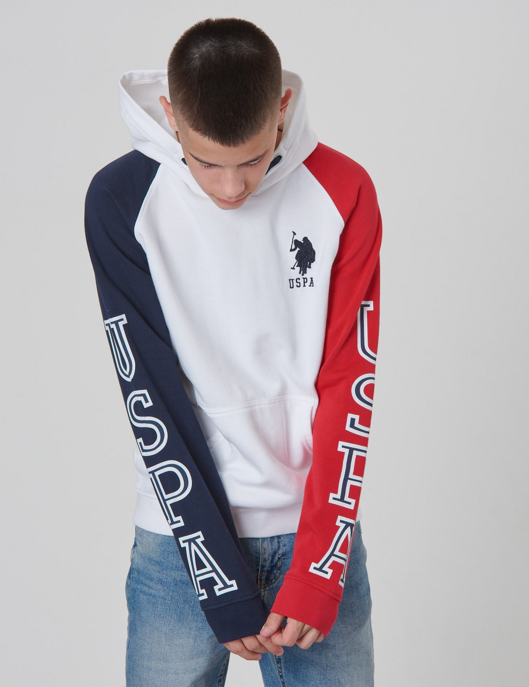 US Polo - Varsity Block BB Sweat OTH Hoodie