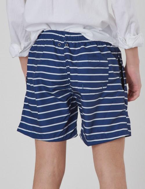 Gant barnkläder - BOYS SWIM SHORTS BRETON STRIPE