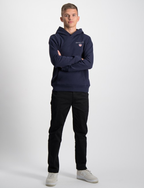 Gant barnkläder - MEDIUM SHIELD SWEAT HOODIE