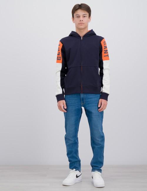 Gant barnkläder - COLOR HOODIE