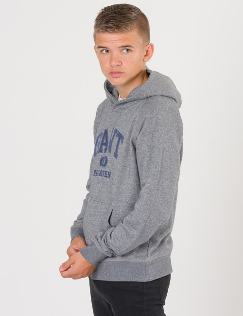 Gant barnkläder - TB.  THE FALL LOGO  SWEAT HOODIE