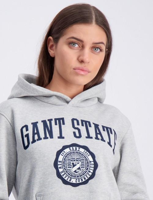 Gant - GANT VARSITY SWEAT HOODIE