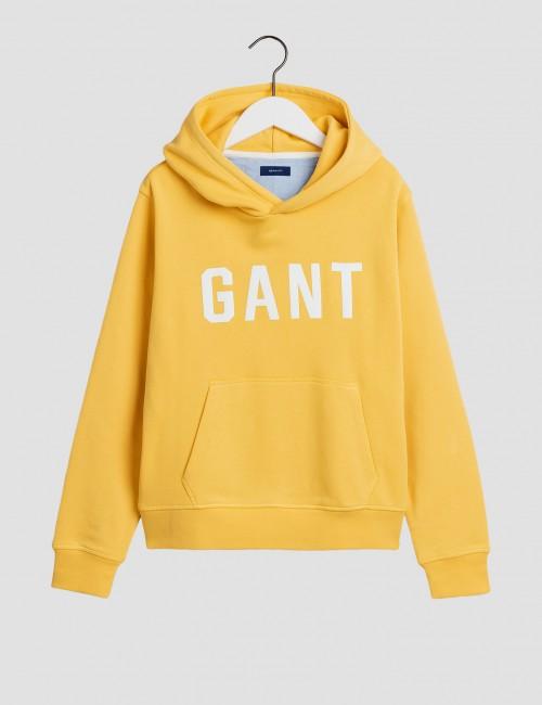 Gant - GANT LOGO SWEAT HOODIE