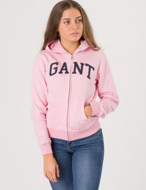 Gant - TG. GANT LOGO FULL ZIP HOODIE