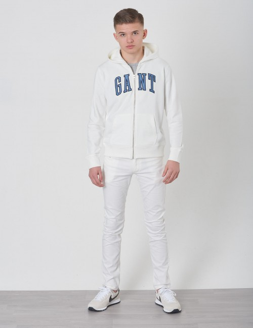 Gant barnkläder - TB GANT FULL ZIP SWEAT HOODIE