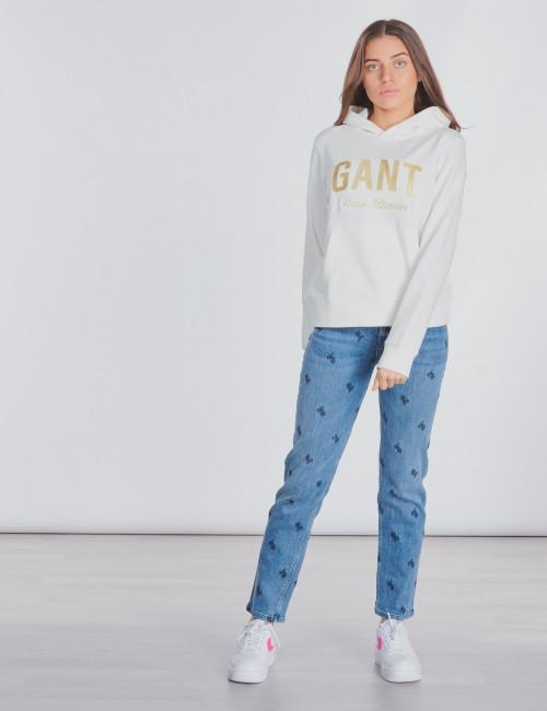 Gant - SHINY GANT SWEAT HOODIE