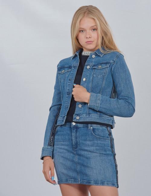 Gant barnkläder - D1. GANT ARCHIVE STRIPE JACKET